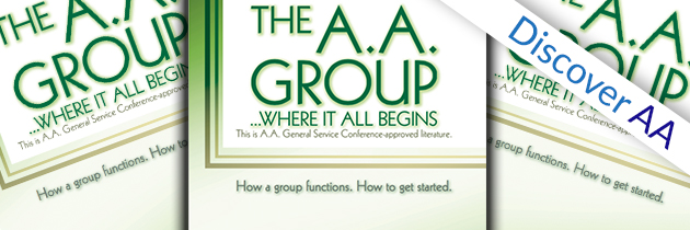 Discover AA – August 2017 – The AA Group Pamphlet