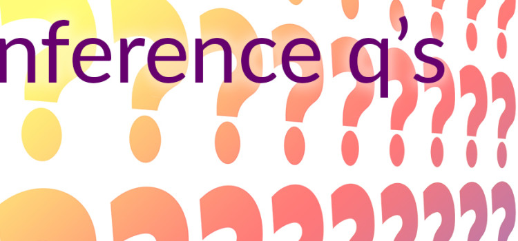 Questions for Conference 2020