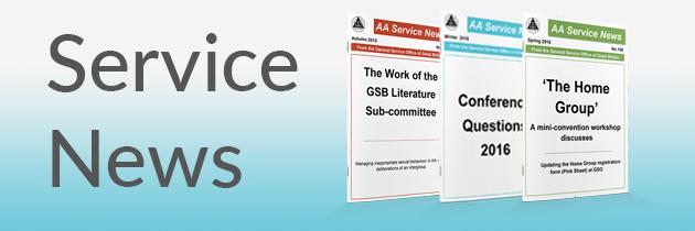 AA Service News – Autumn 2016