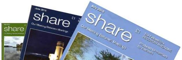 Share Magazine Needs Support
