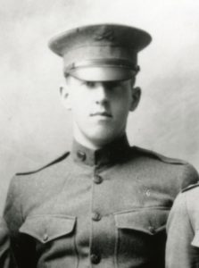 Bill Wilson cadet c.1917